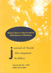 Journal of Social Development in Africa