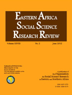 EASSRR Vol. 28, No. 2 June. 2012